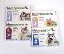 Милпразон - новый антигельминтный препарат с широким спектром действия