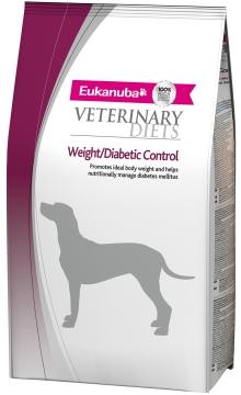 Эукануба Вейт/Диабетик Контроль (Eukanuba Weight/Diabetic Control) для собак